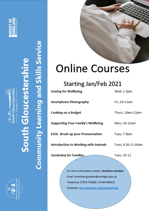 Online Courses -January 2021